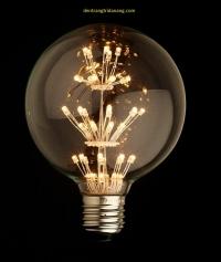 Led edison light G95 4W