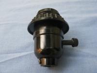 Lamp holder (knob switch)